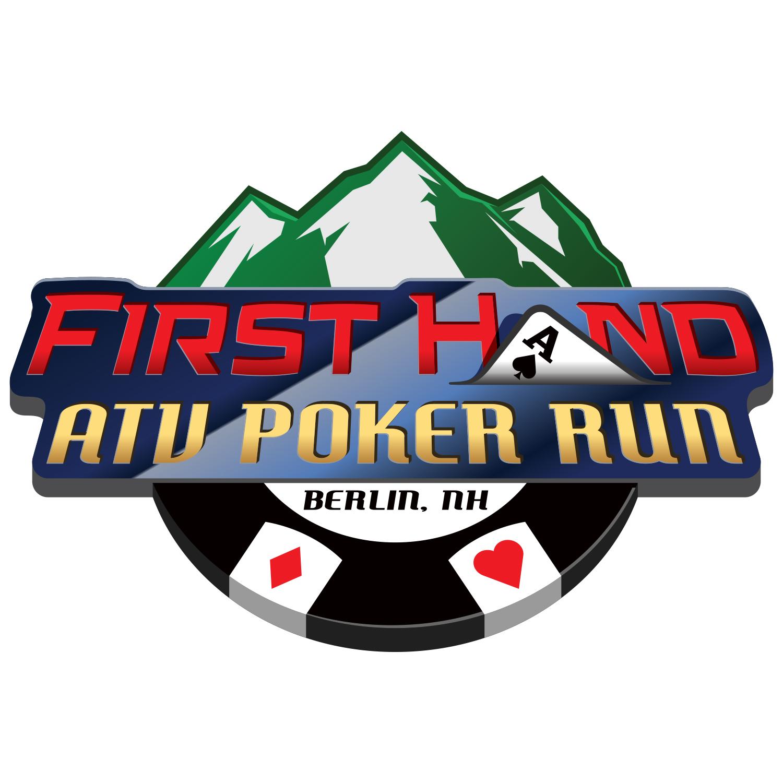 First Hand ATV Poker Run Logo 2020