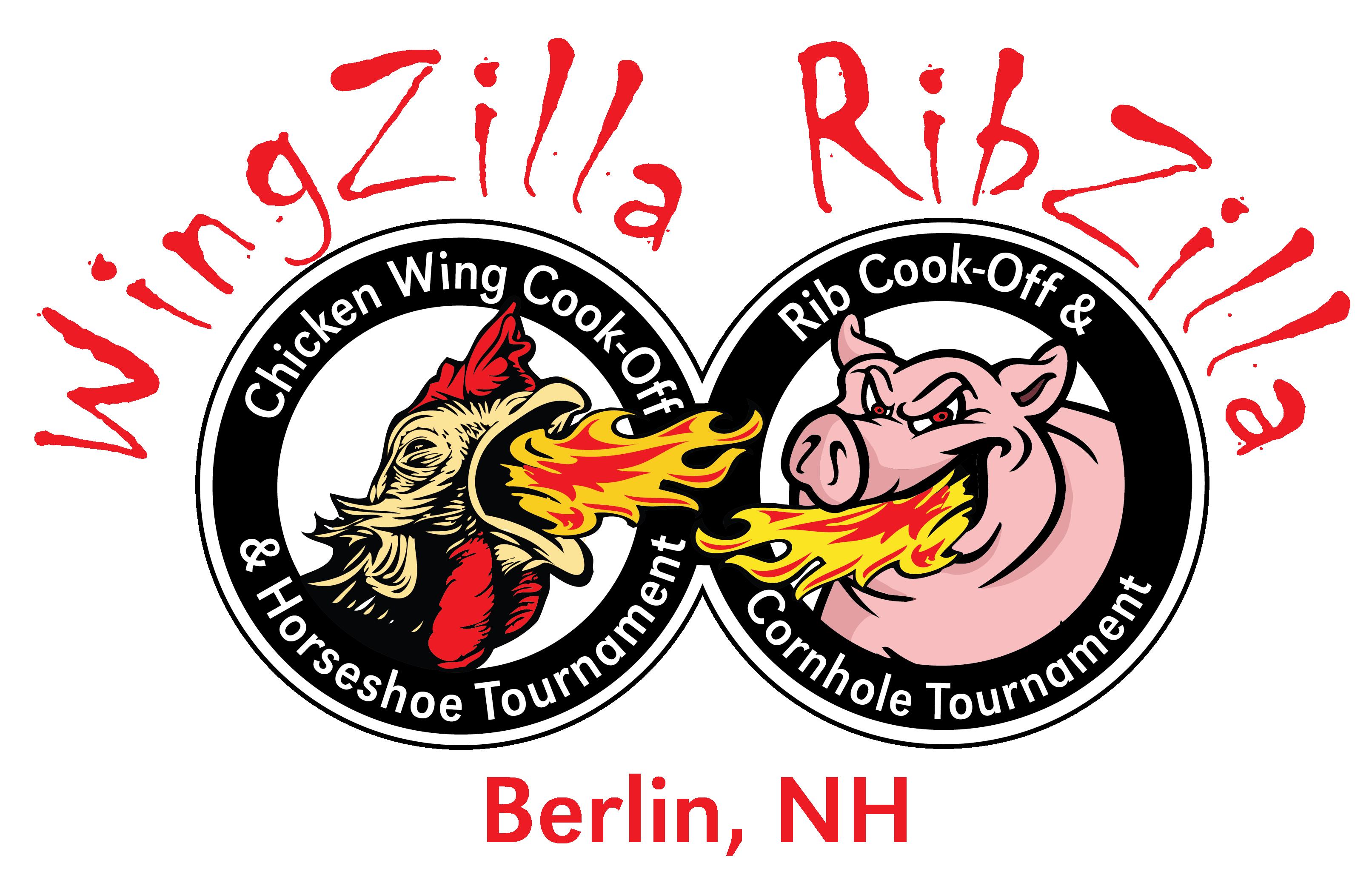 Wingzilla Ribzilla logo